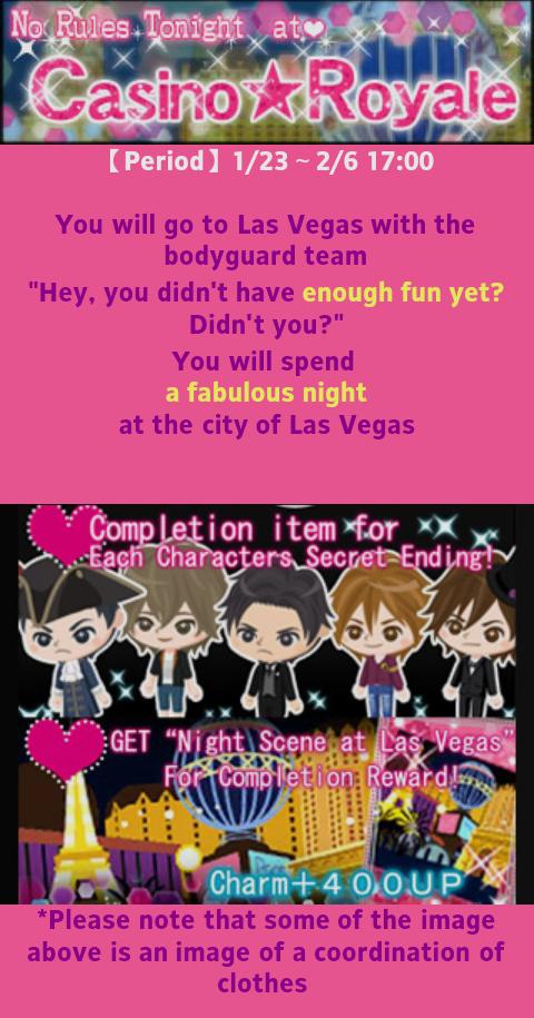 My sweet bodyguard casino royale