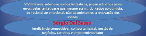 Palestrante, consultor executivo Sérgio Dal Sasso