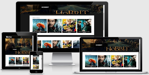 Moviez Responsive Blogger Template Free Download