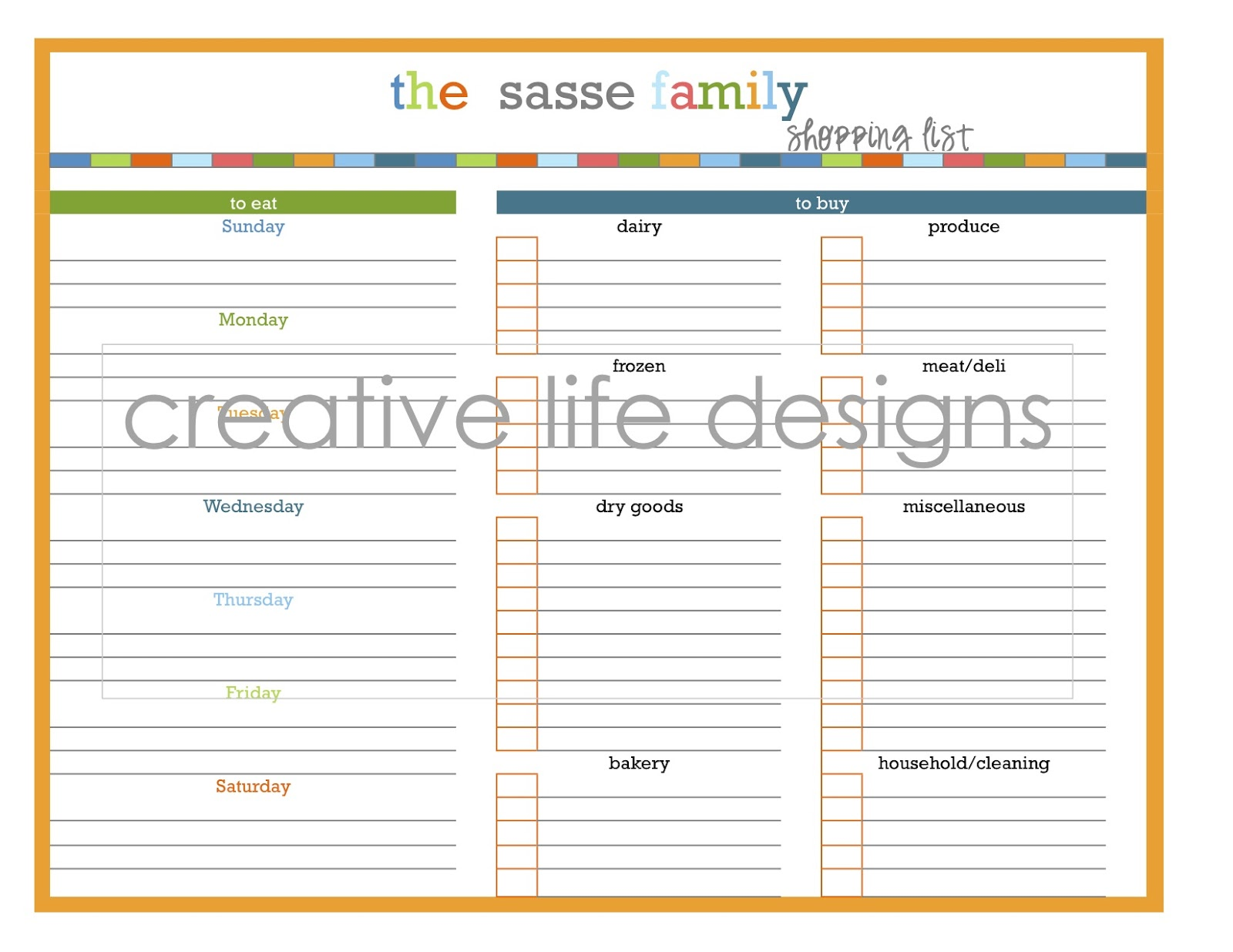 viewing gallery for blank grocery list displaying 20 images for blank ...
