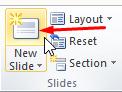 menambah slide baru powerpoint