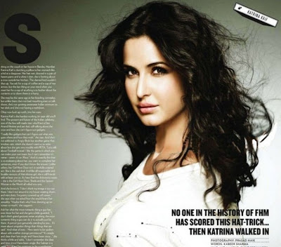 Katrina Kaif Photoshoot For FHM