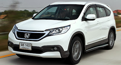 New Honda CRV fourth gen.