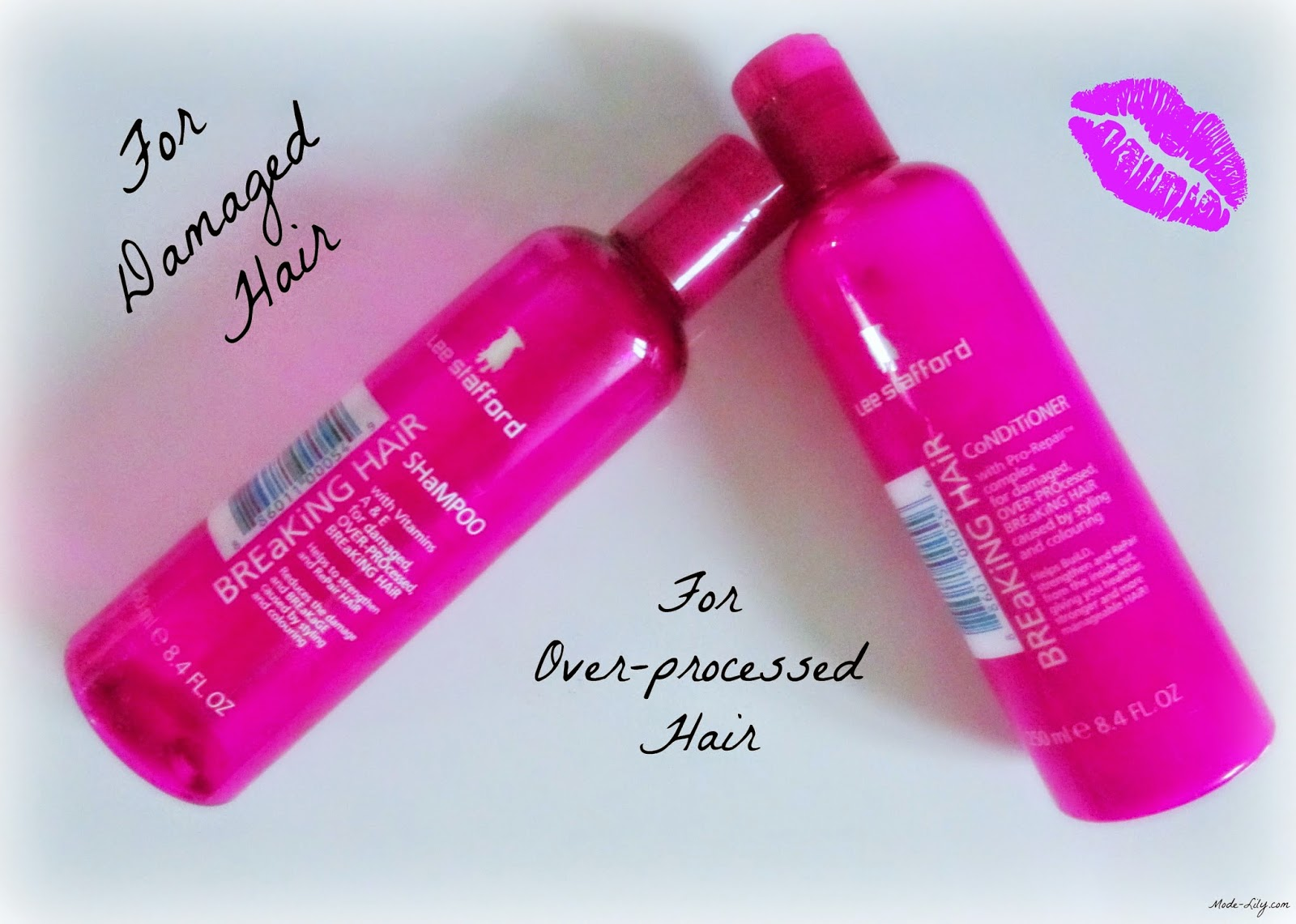Review: Lee Stafford Breaking Hair Shampoo and Conditioner
