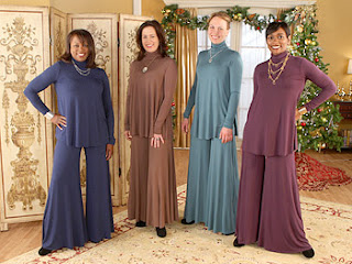Ugliest dress pantsuit silk of all time outfit disgusting gross tacky