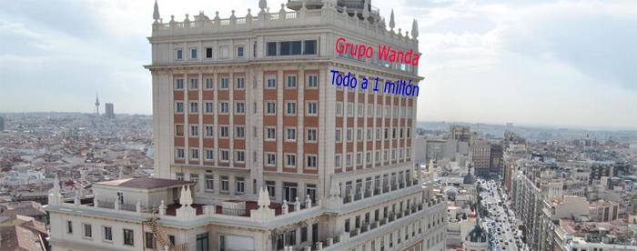 El edificio España, todo a 1 millón