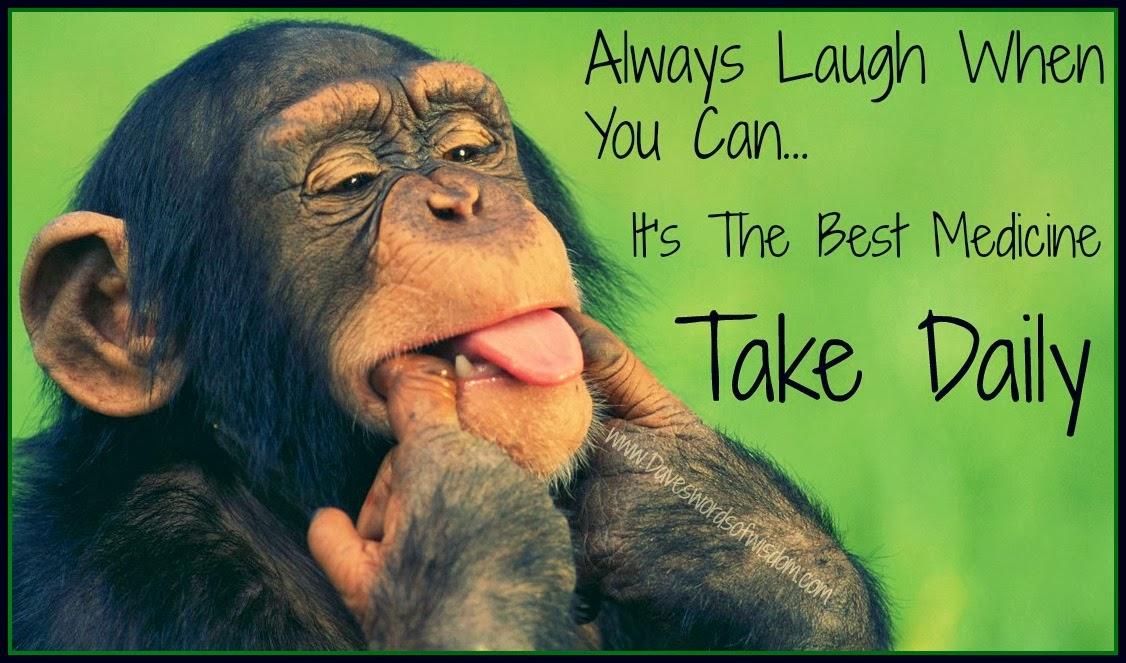 Attirant Laughter Is The Best Medicine