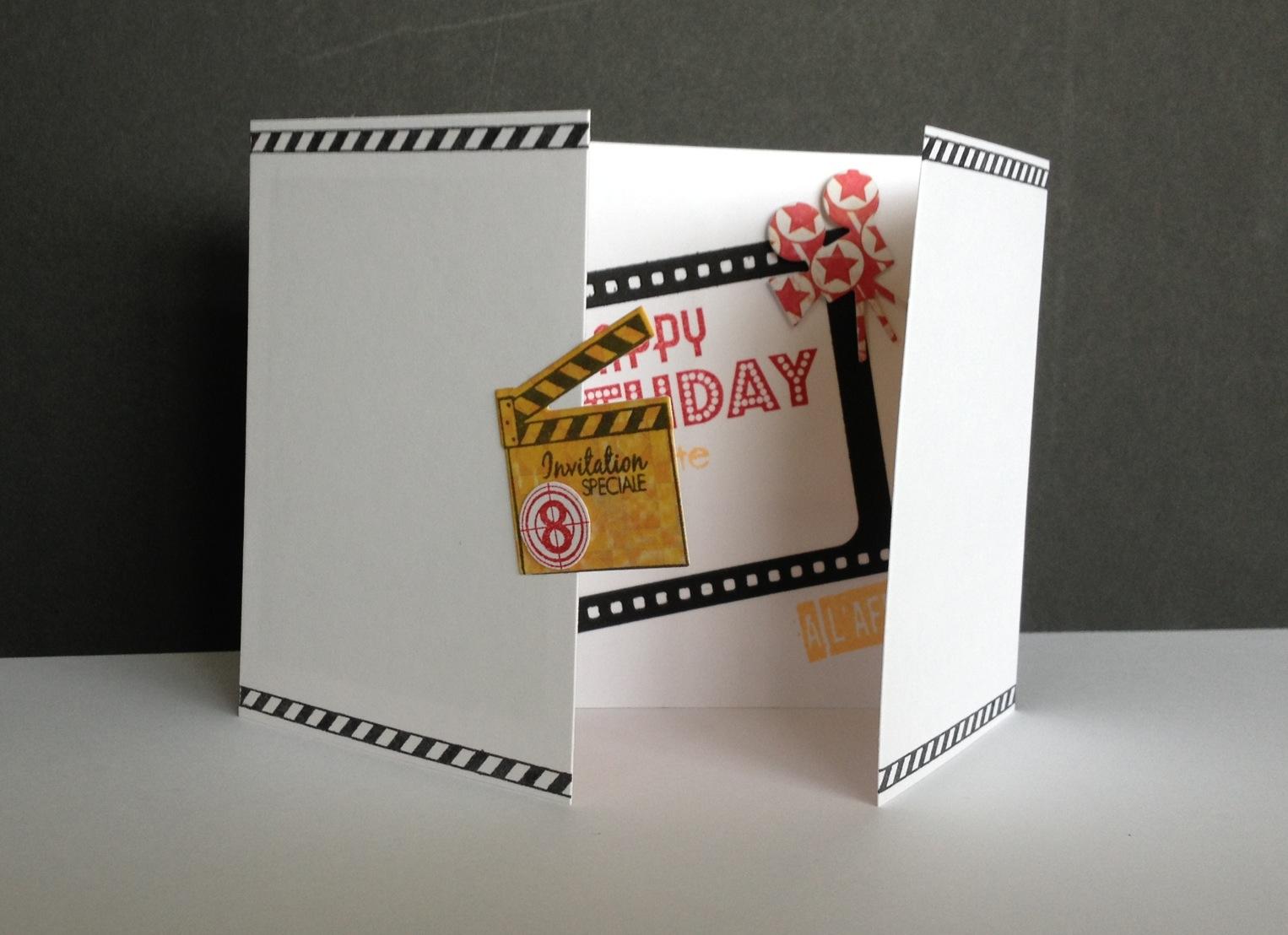 Gut gemocht Feebellescrap: Juliette à l'affiche! ;)/anniversaire thème cinéma! QZ03