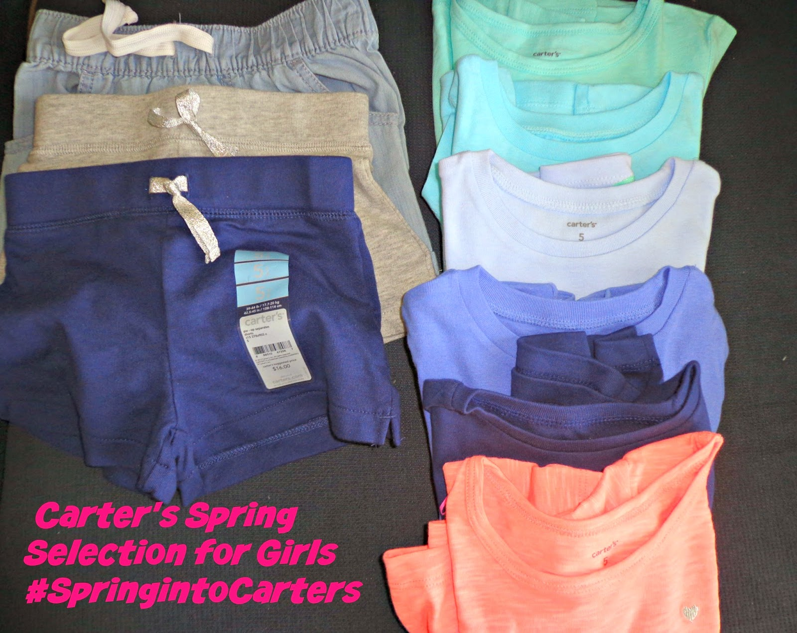 Carter's Spring Selection for Girls