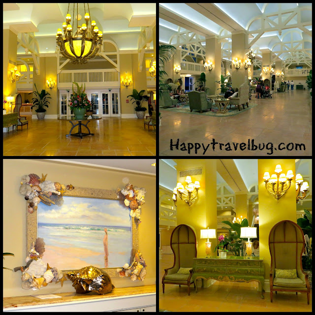 Disney's Beach Club resort lobby area
