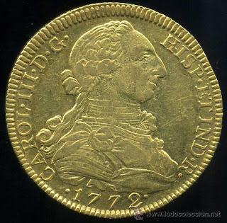 8 Escudos - Carlos III