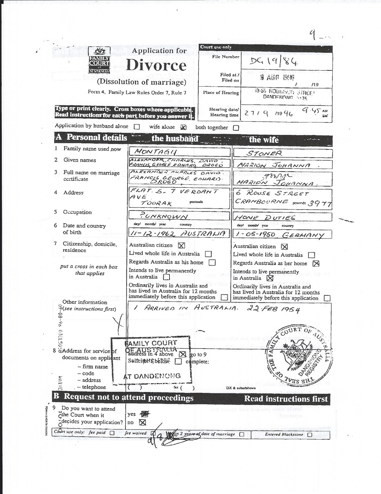 Fake divorce papers online fieldstation fake divorce papers online divorce decree template yelopaper Choice Image