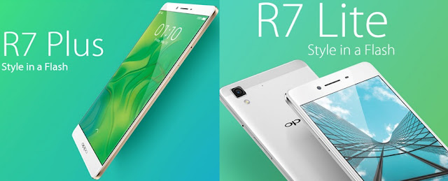 R7 Lite and R7 Plus OPPO