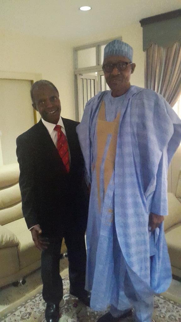 I Will work With Buhari To Bring Nigeria Back To Its Lost Glory - Prof. Yemi Osinbajo, Maj.-Gen. Buhari's Running Mate