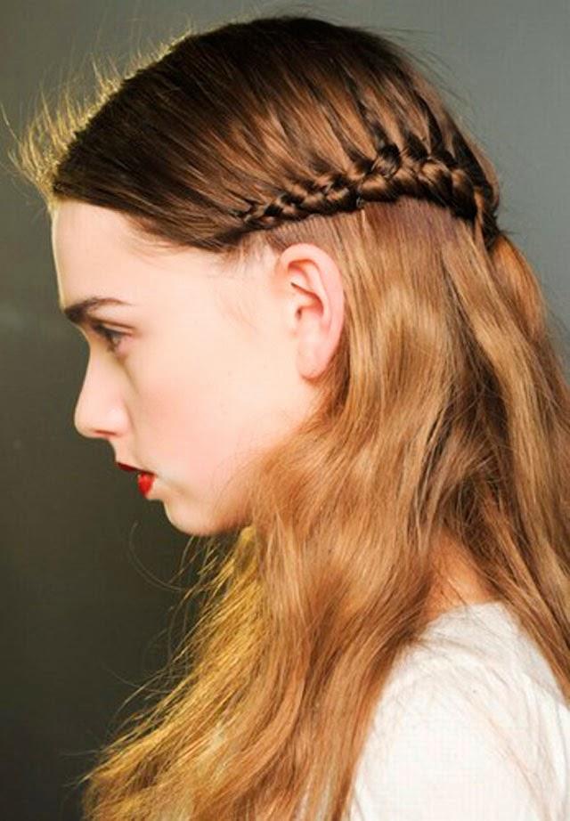 Que esta de moda trenzas sencillas para el cabello - Trenzas peinados faciles ...