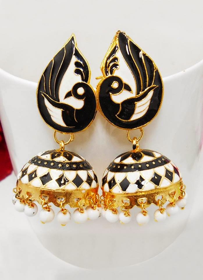 Latest And Stylish Designs Of Jhumkas By Cbazaar From 2014-15 ...