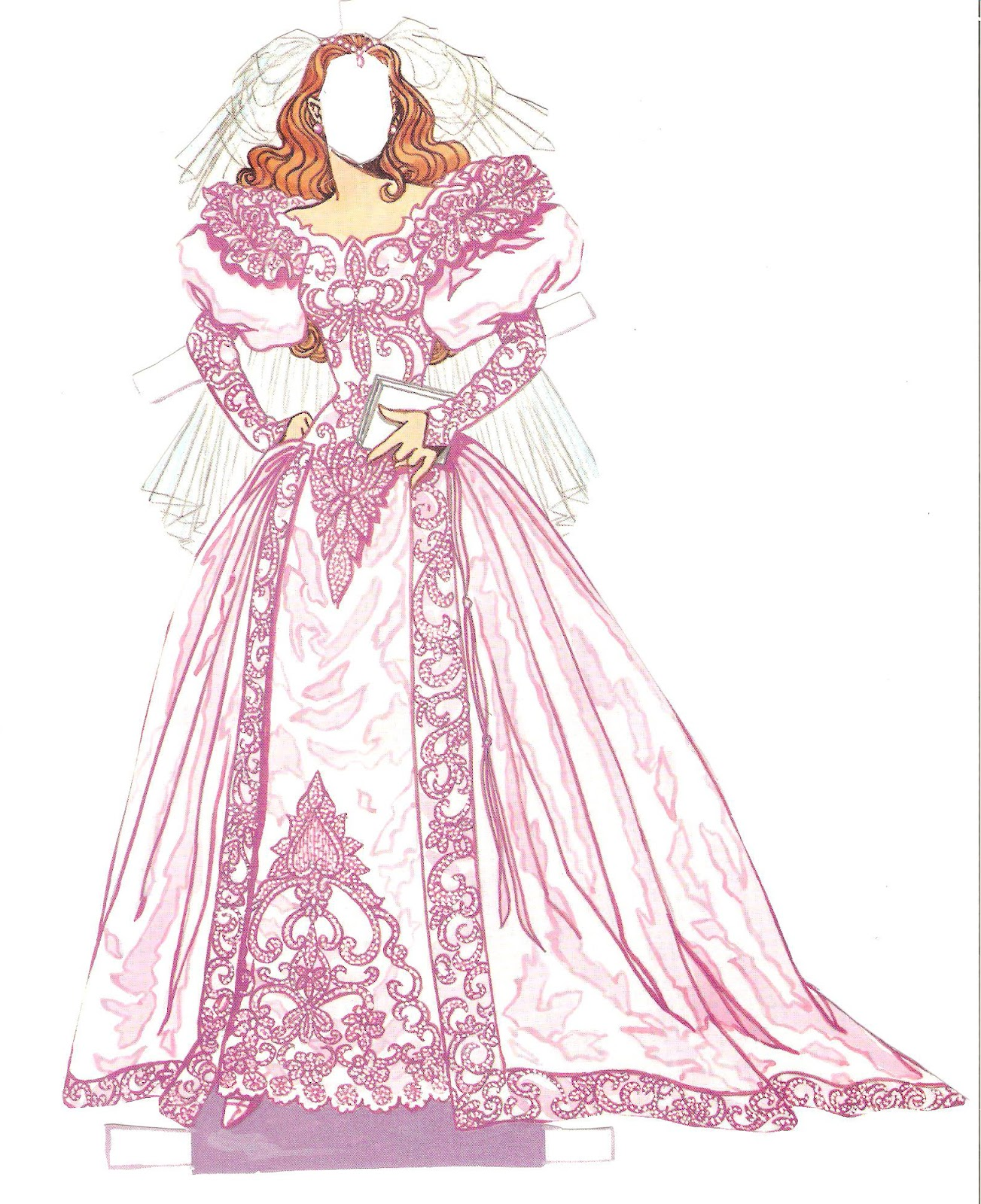 fashion paper dolls The three fashion paper dolls are an elegant lady from the 1950s wearing the hautest of haute couture,.