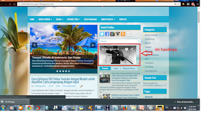 Cara Mudah Memasang Video Youtube di Blog dan Wordpress -obs