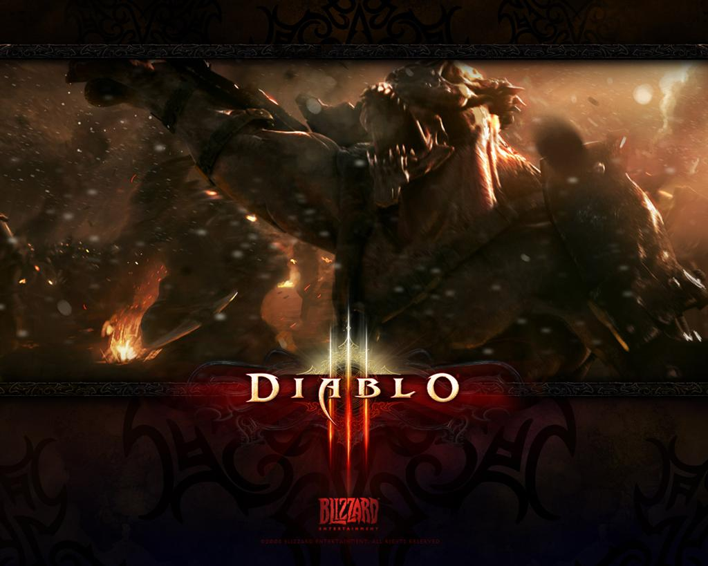 Diablo HD & Widescreen Wallpaper 0.852099304734729