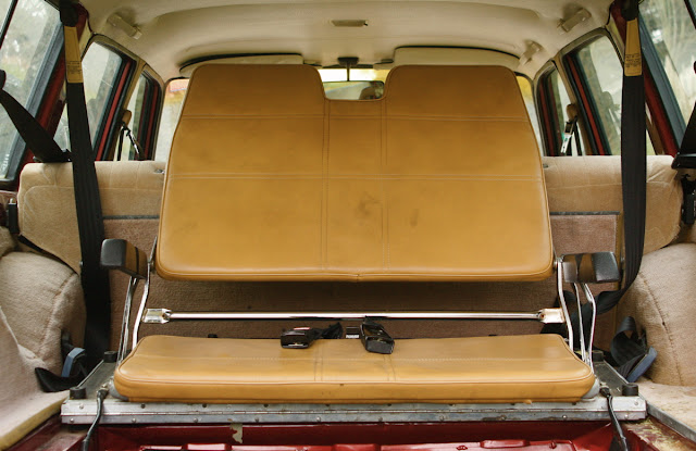 1986 Volvo 245 wagon third row seat.