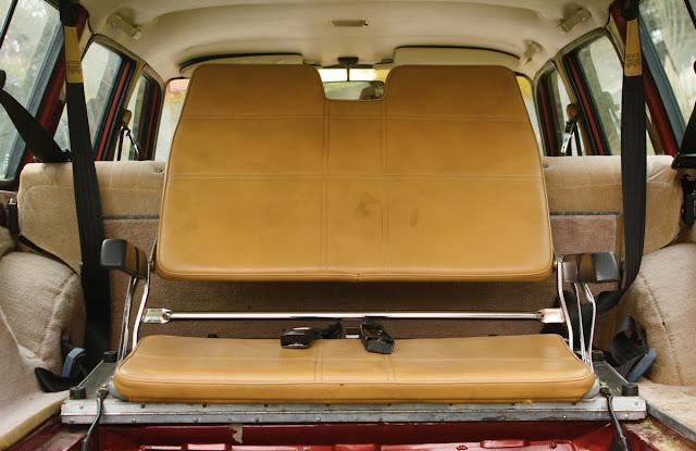 1986 Volvo 245 wagon third row seat.
