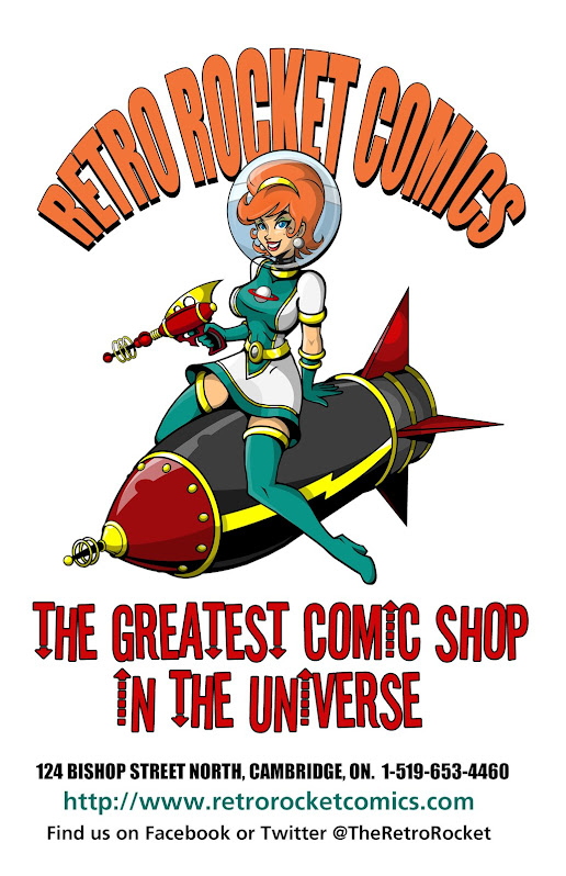 Retro Rocket Comics Studiocomix Official Sponsor