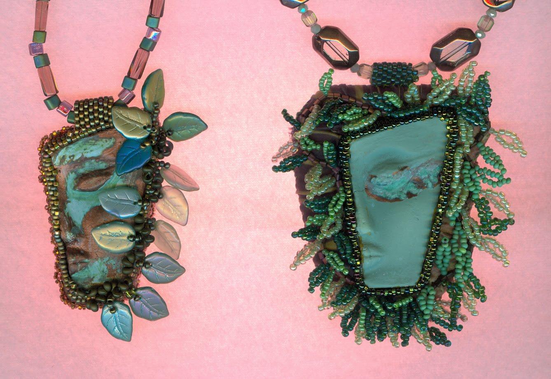 Garden fairies necklaces