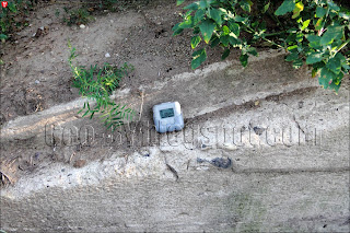 Измерение радиации на ДОТ-е №103
