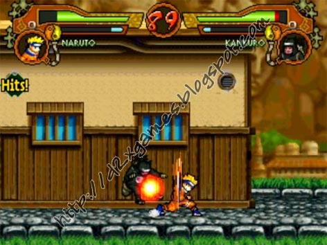 Free Download Games - Naruto MUGEN 2010