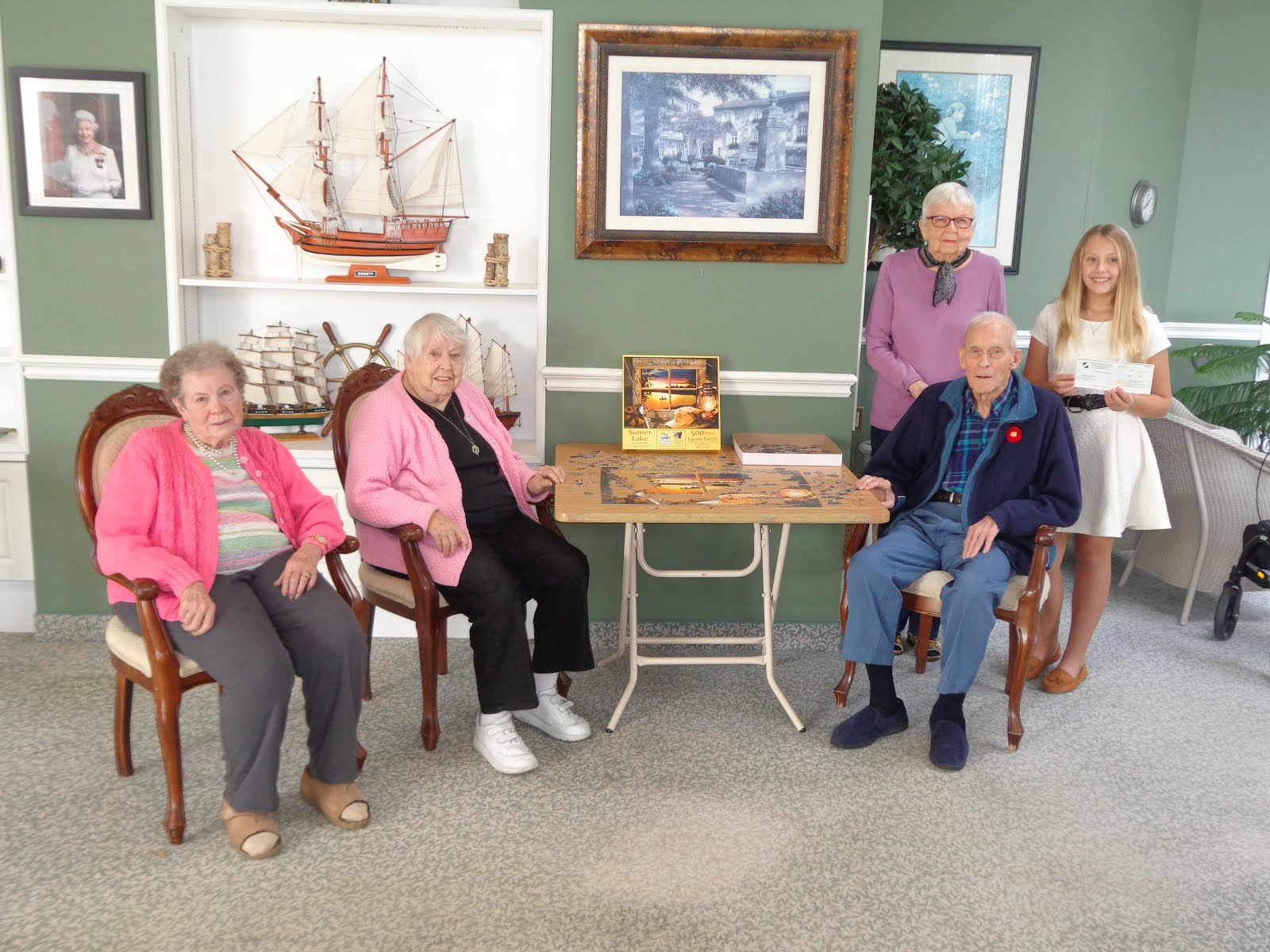 Builders Support Bay Haven Seniors