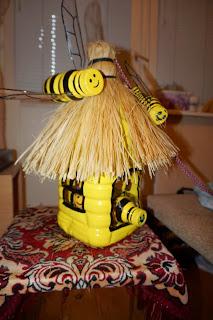 Поделка в садик пчела 35