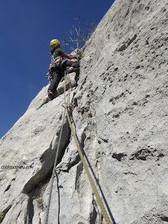 Vicky vega guia de escalada en roca