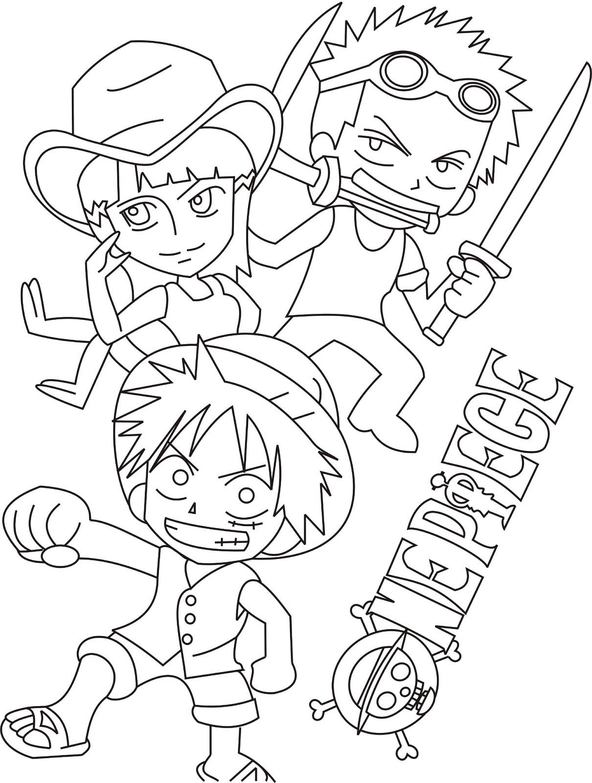 Fantástico Lindos Personajes De Anime Para Colorear Componente ...