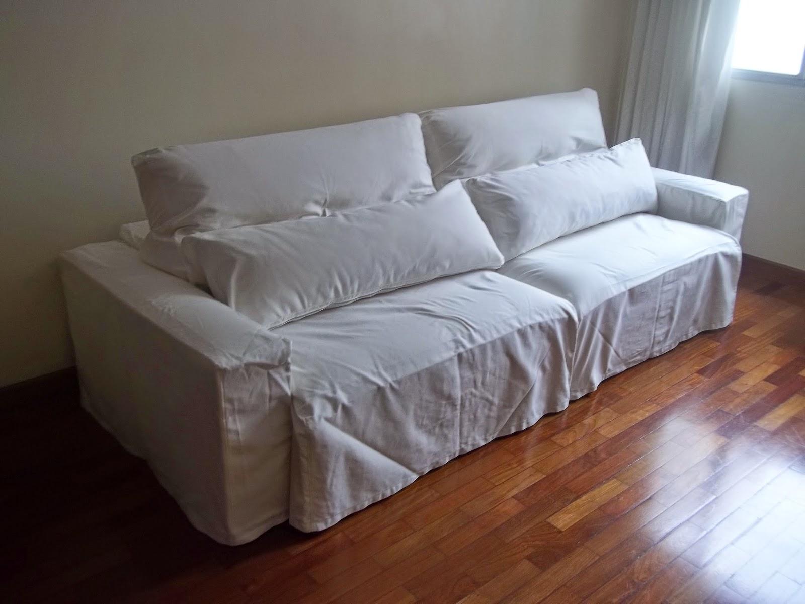 Dld decora es capa sob medida para sof - Sofas pequenos medidas ...