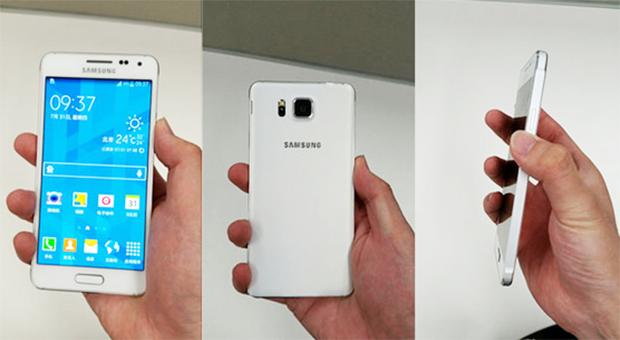 Nuevas imagenes: Samsung Galaxy Alpha