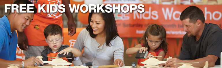FREE IS MY LIFE: FREE Home Depot Kids Workshop 7/1 - Build a Bug House