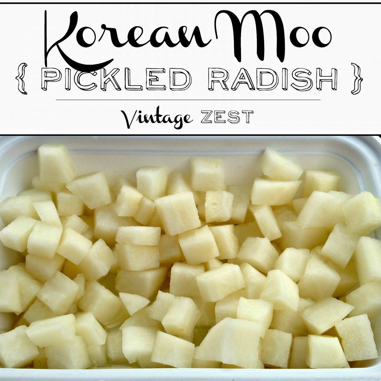 Korean Pickled Radishes on Diane's Vintage Zest!  #recipe #healthy #vegetarian