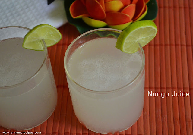 Nungu Juice / Ice Apple Juice