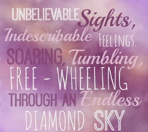 Unbelievable sights, indescribable feelings. Soaring, tumbling, free-wheeling through an endless diamond sky. From Aladdin