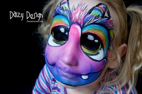 18-Christy Lewis Daizy-Face Painting - Alternate Personalities-www-designstack-co