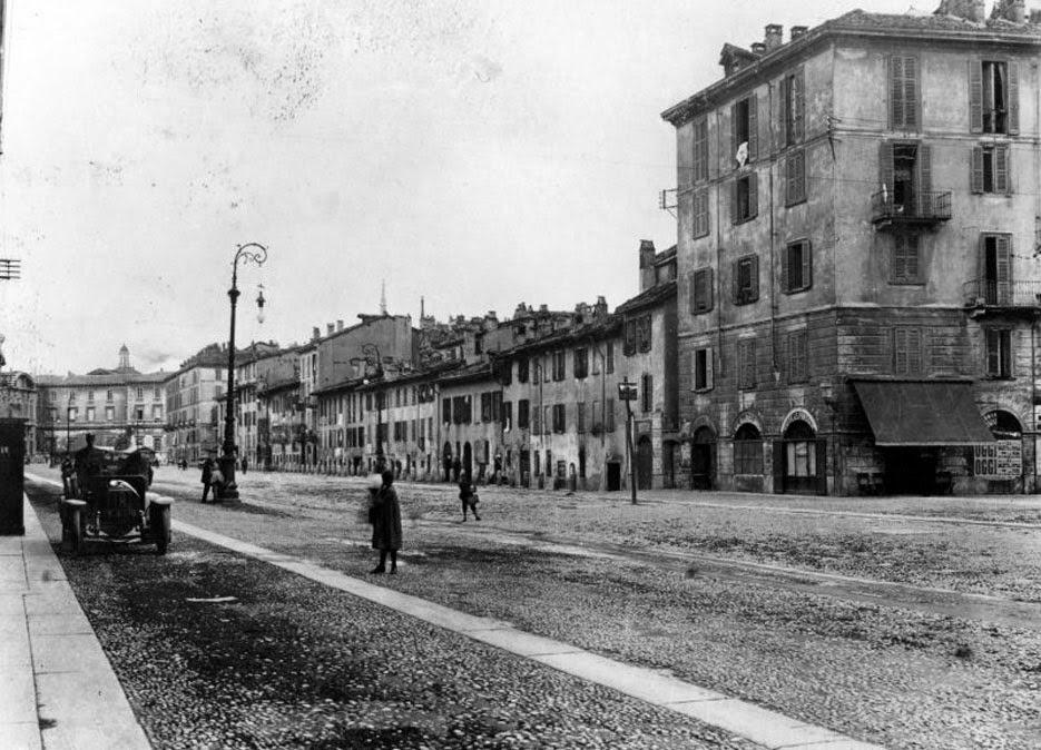 Urbanfile milano zona porta vittoria milano sparita il borgo di porta tosa da popolare a - Via porta vittoria milano ...