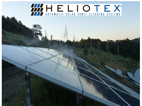 Heliotex Automatic Solar Panel Cleaning Systems