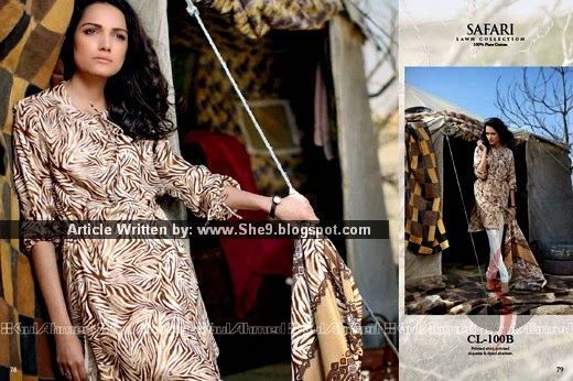 Gul Ahmed Lawn Magazine / Catalog / Catalogue 2015-2016 - She9 ...