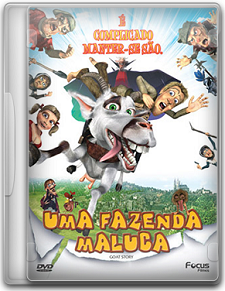 Capa Uma Fazenda Maluca – DVDRip   Dublado