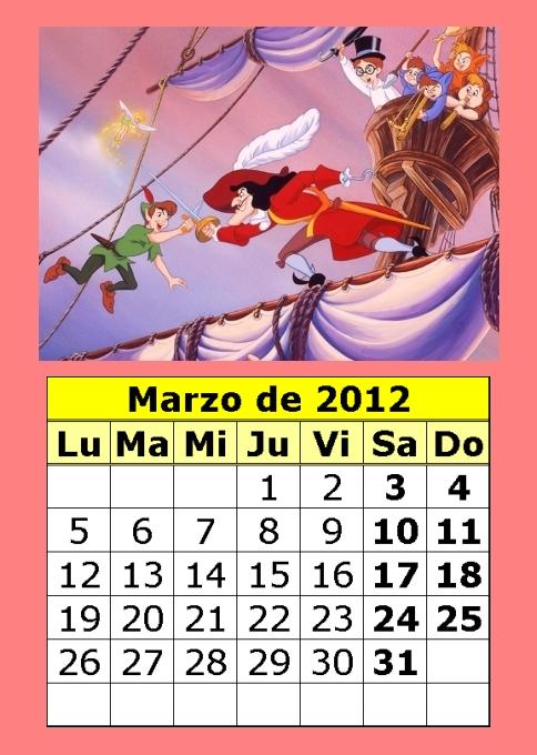 en 2 00 etiquetas calendarios 2012 calendarios de dibujos calendarios ...