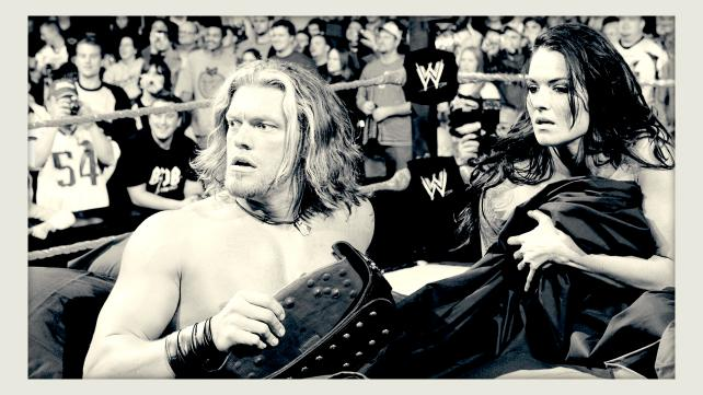 Edge Lita Story Adam's Wrestling Edge Lita