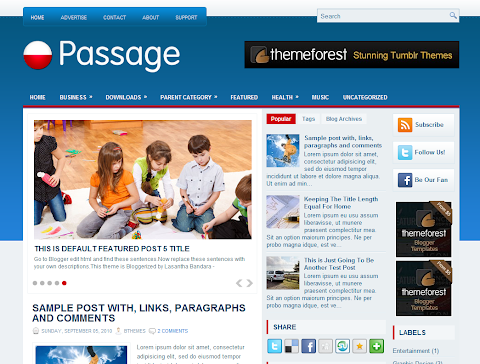 Passage Blogger Theme