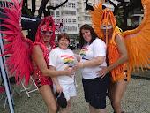Na  parada Gay -Rio