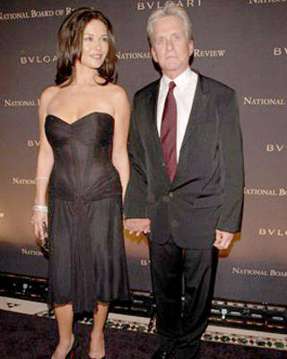Catherine Zeta-Jones and Michael Douglas at the National Board of Review of Motion Pictures Annual Awards Gala