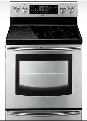 5.9 cu. ft. Freestanding Flex Duo Oven with radiant electric range (FE710)